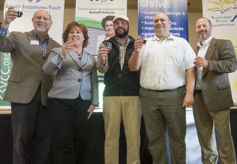 Craft beer brewers win $12K Business Pitch prize