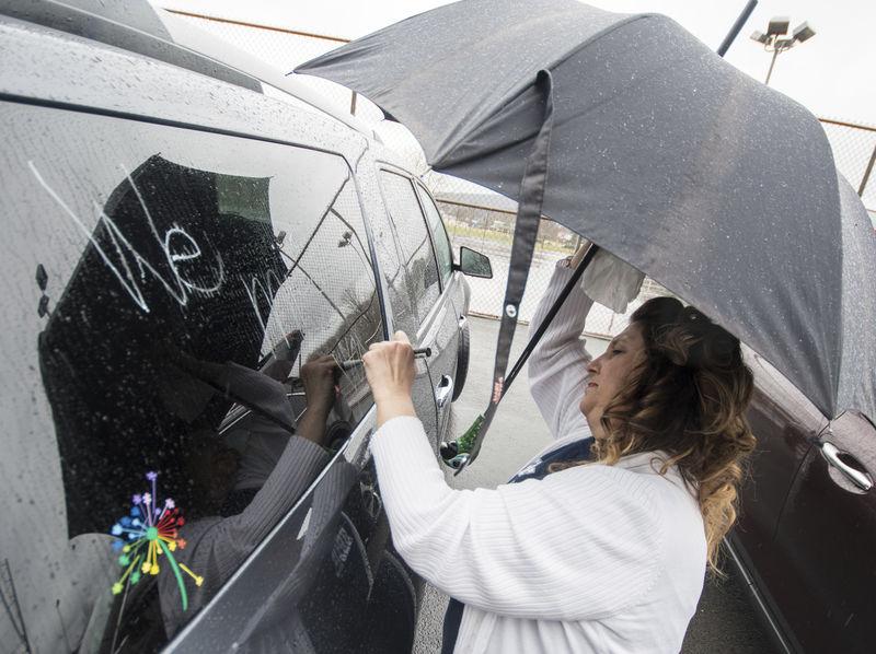 'Teacher Love Train' reconnects students, educators in Sunbury