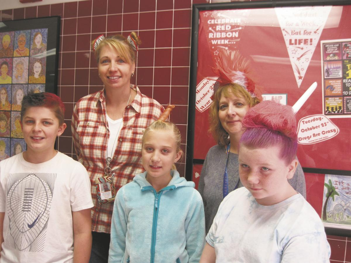Middle School Students Participate In Crazy Hair Day News