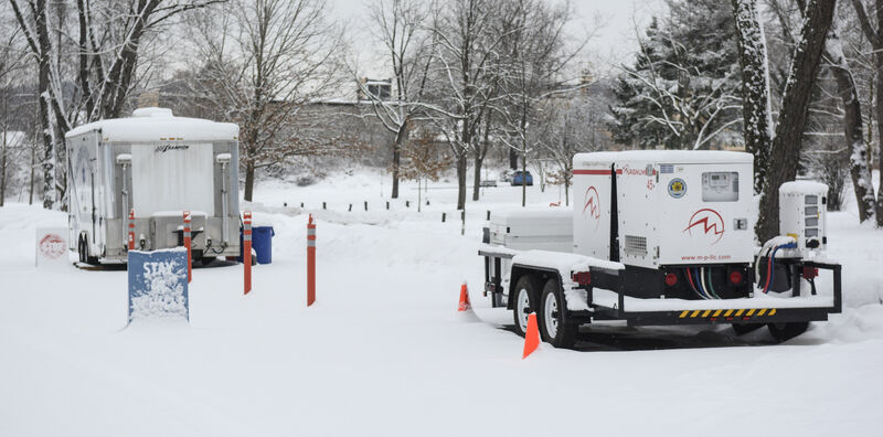 Testing site to reopen after snow day