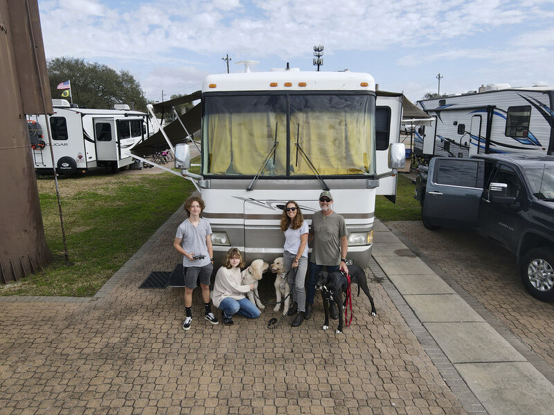 As COVID-19 surged, family sold home for RV to take a national tour