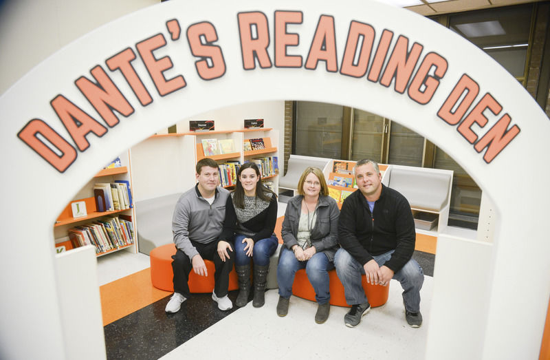 Library honors late student with honorary section