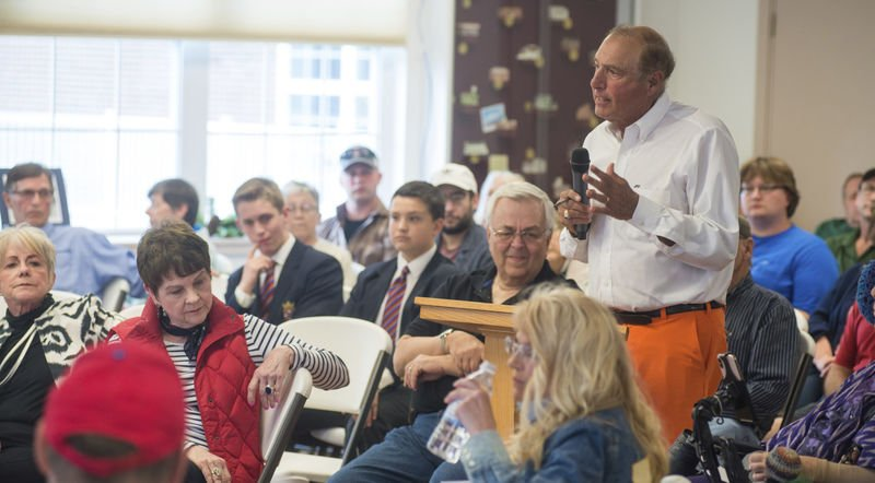 Lieutenant governor's listening tour stops in Northumberland County
