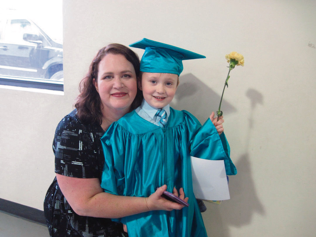 Pint-sized graduates don caps, gowns for graduation ceremony | News ...
