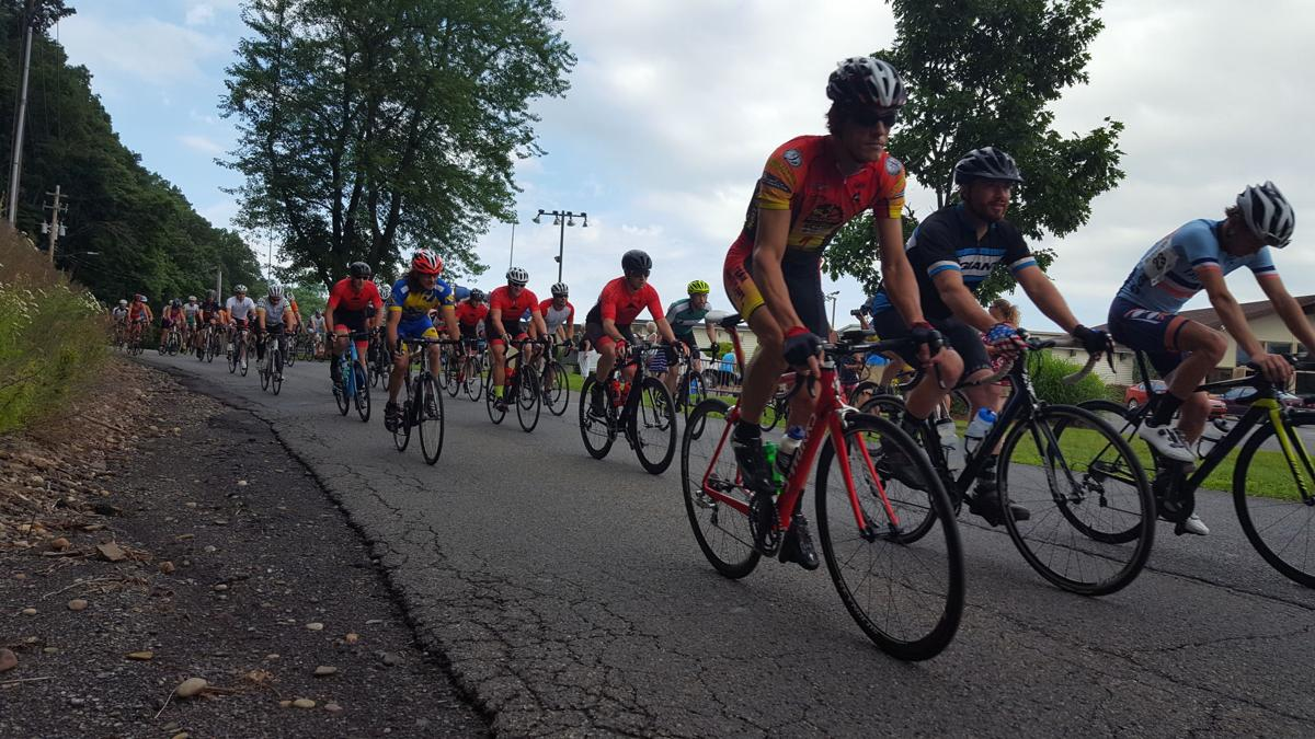 Hilly' course challenges 44 riders in 16th Annual Sunbury Bike Race