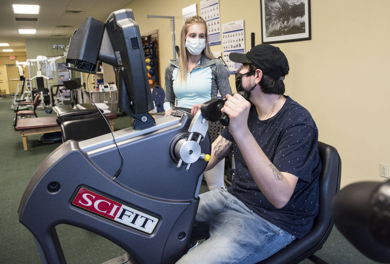Rehab center takes steps to see patients