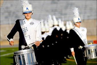 Mifflinburg Marching Wildcats' drum major is tops | News | dailyitem com