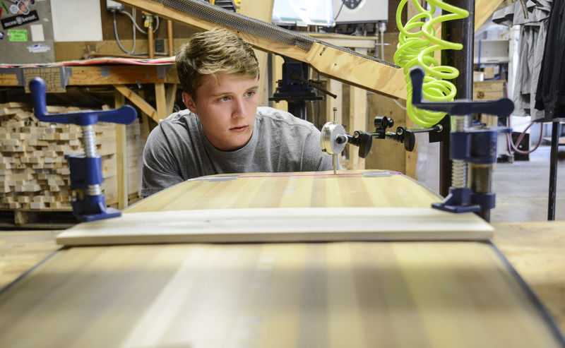 Gilson Snow teams with Bucknell to create wakeboards