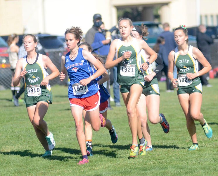 Tight grouping leads Lewisburg girls to title