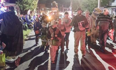 Danville Halloween Parade marches through generations
