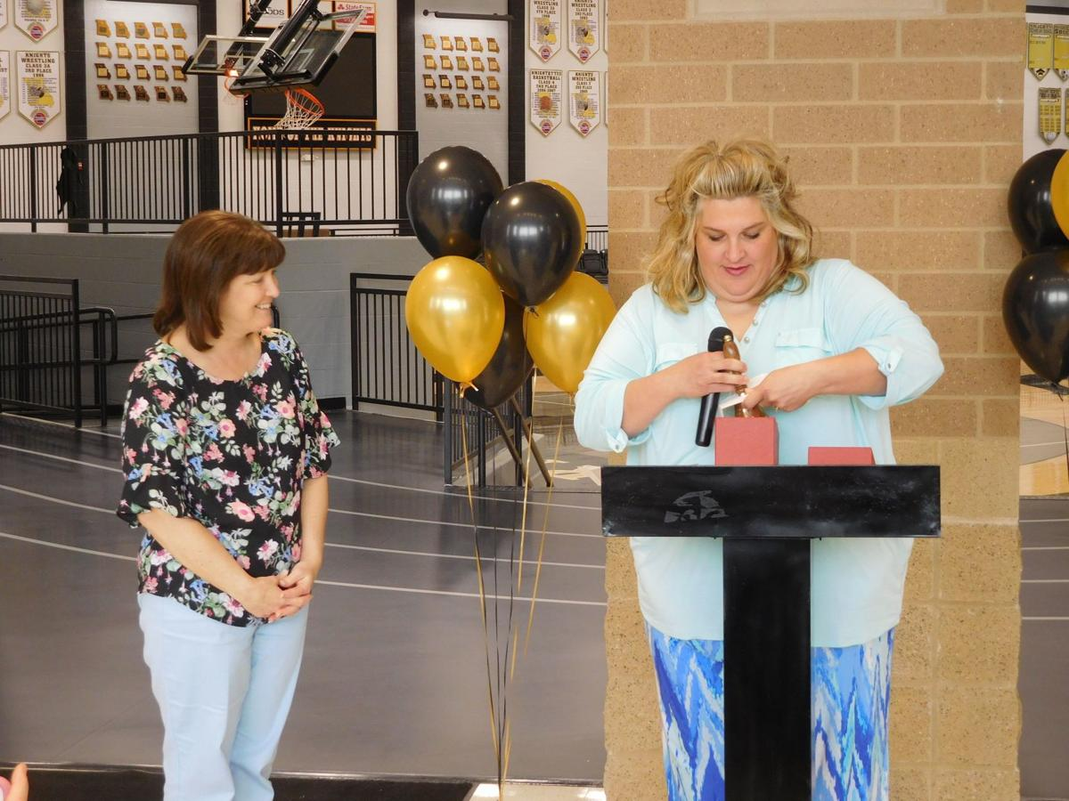 District names 'Teacher of the Year'