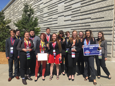 Farmington FBLA attend state leadership conference