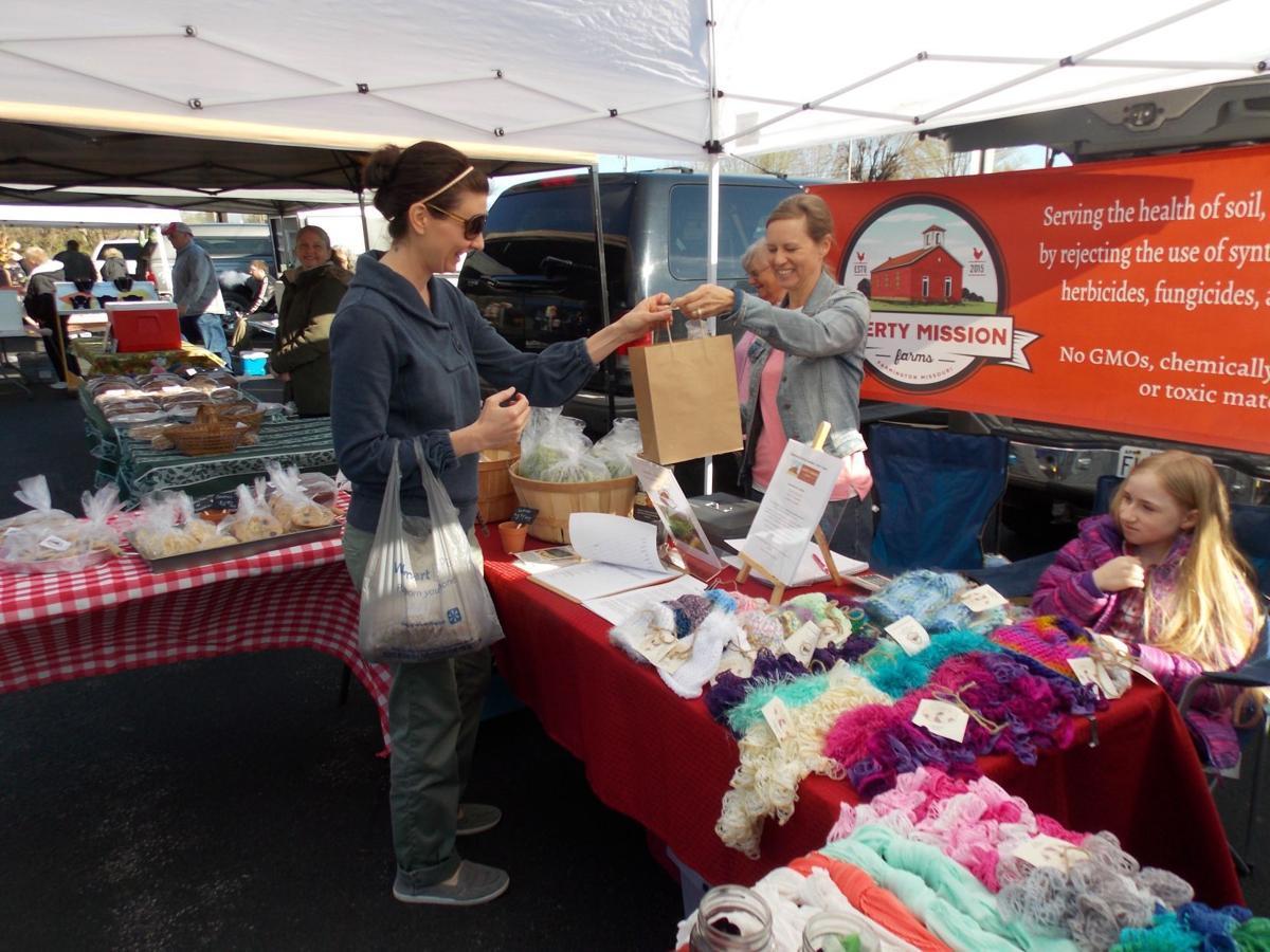 Farmers market returns Saturday