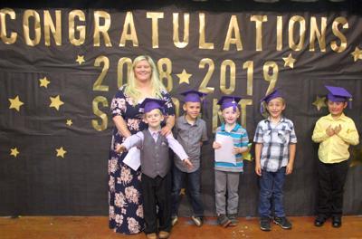 Marquand-Zion Kindergarten graduation