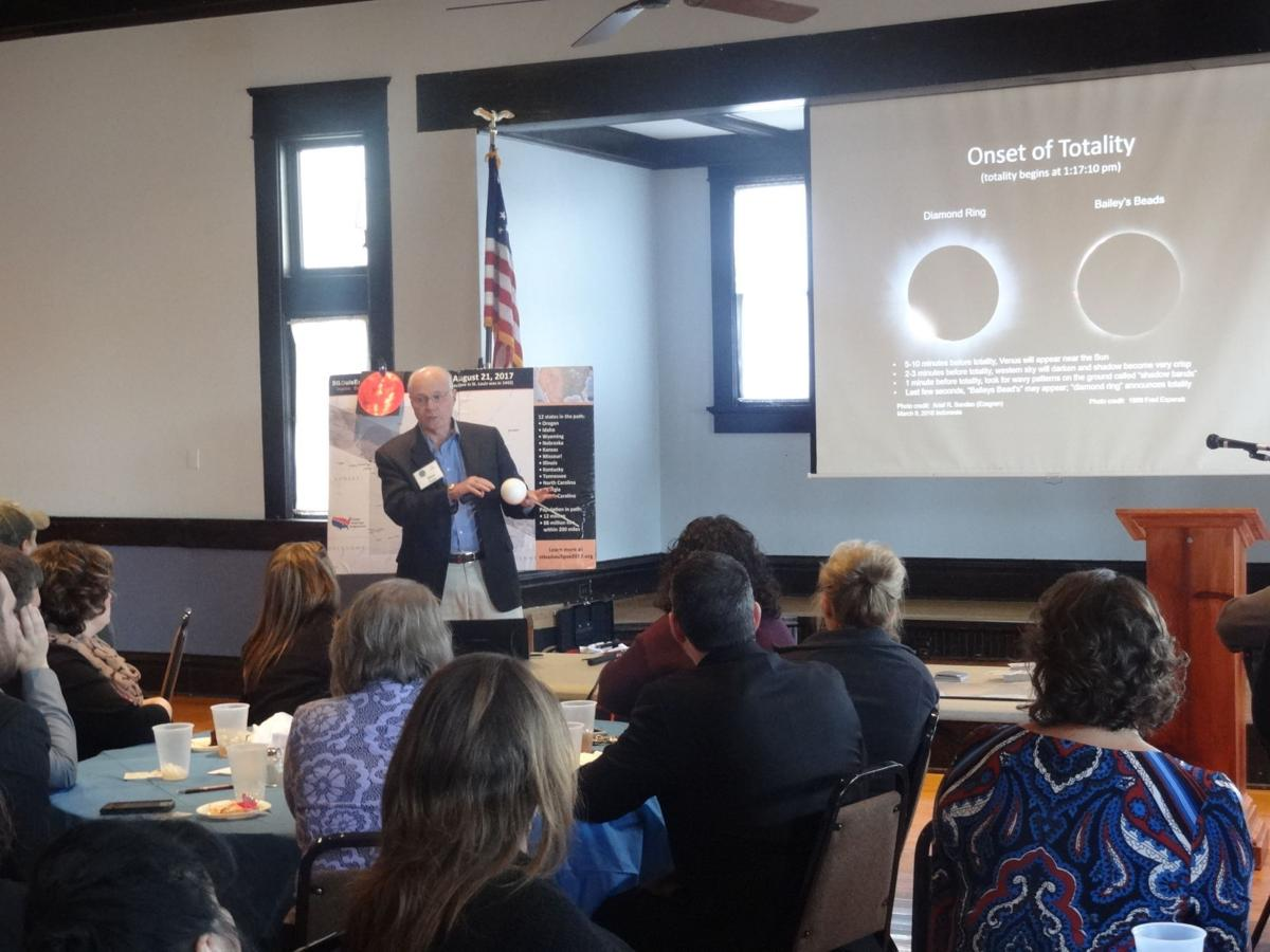 Chamber learns about eclipse