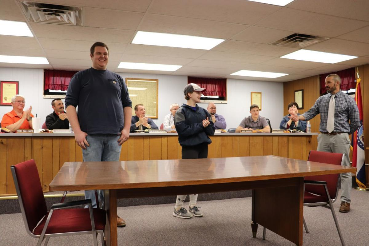 Central School Board recognise students of the month