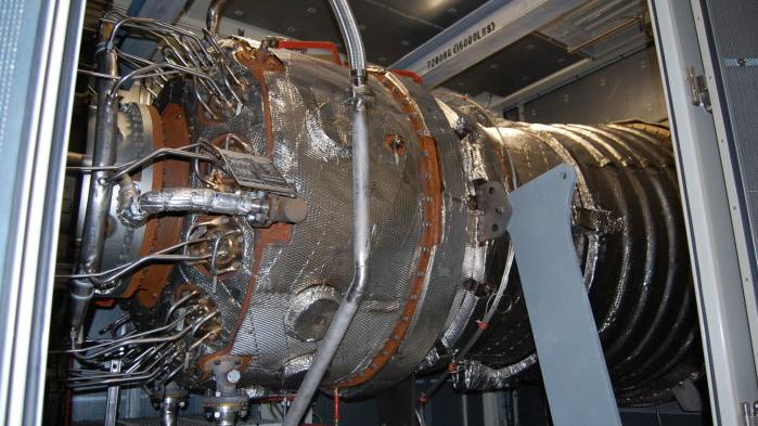 Gas Turbines Get Initial Start Up Local