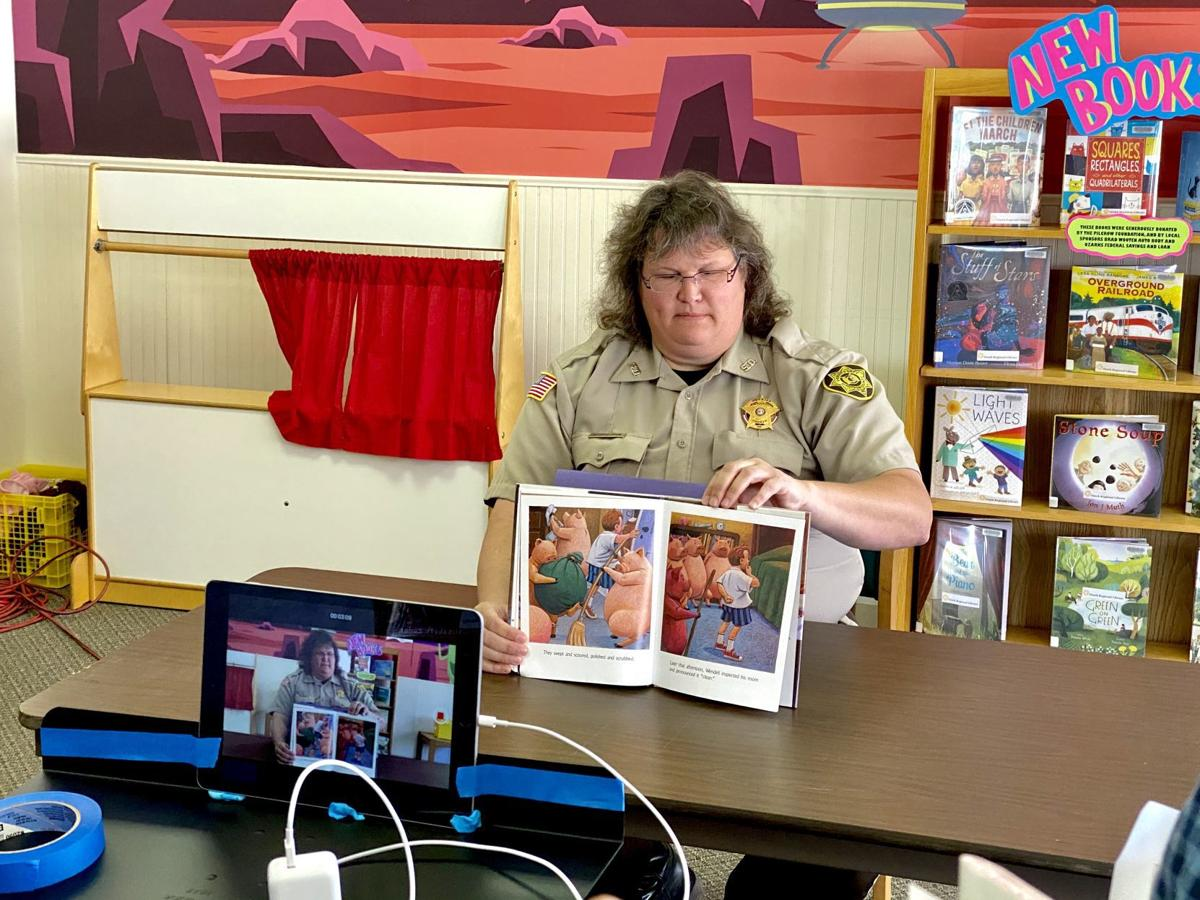 Sheriff Katy McCutcheon-Virtual Story Time