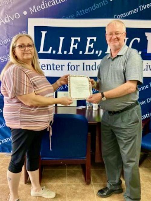 Woman wins Branson trip in L.I.F.E. Center raffle