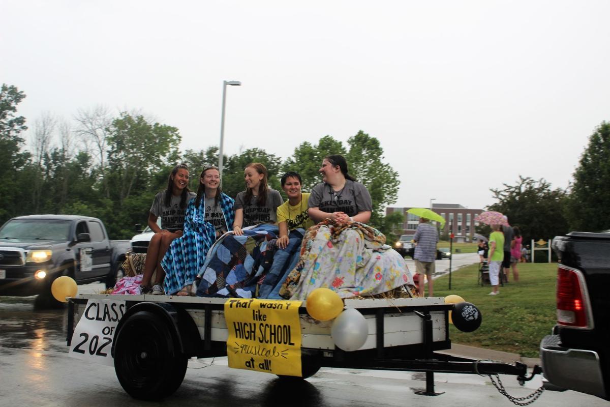 Seniors celebrate with parade