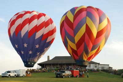 Chaumette Balloon Glow on the rise