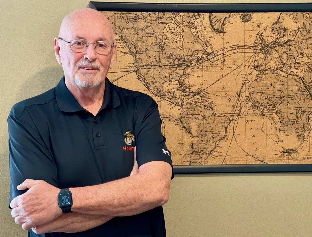 Retired judge attributes his success to the Marine Corps