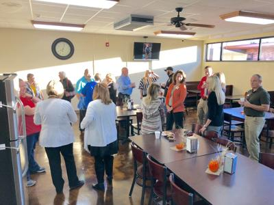 Chamber Members Took Time to 'Perk Before Work'