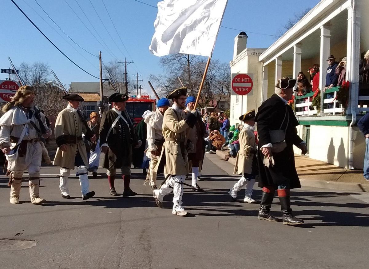 Colonial Militia Parade