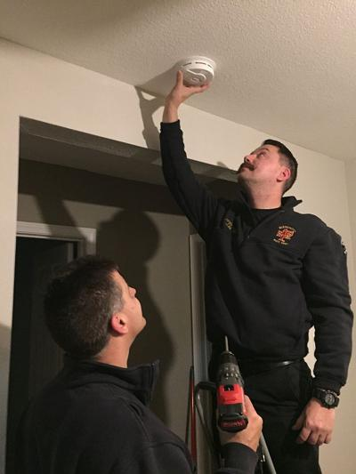 Department installs smoke detectors