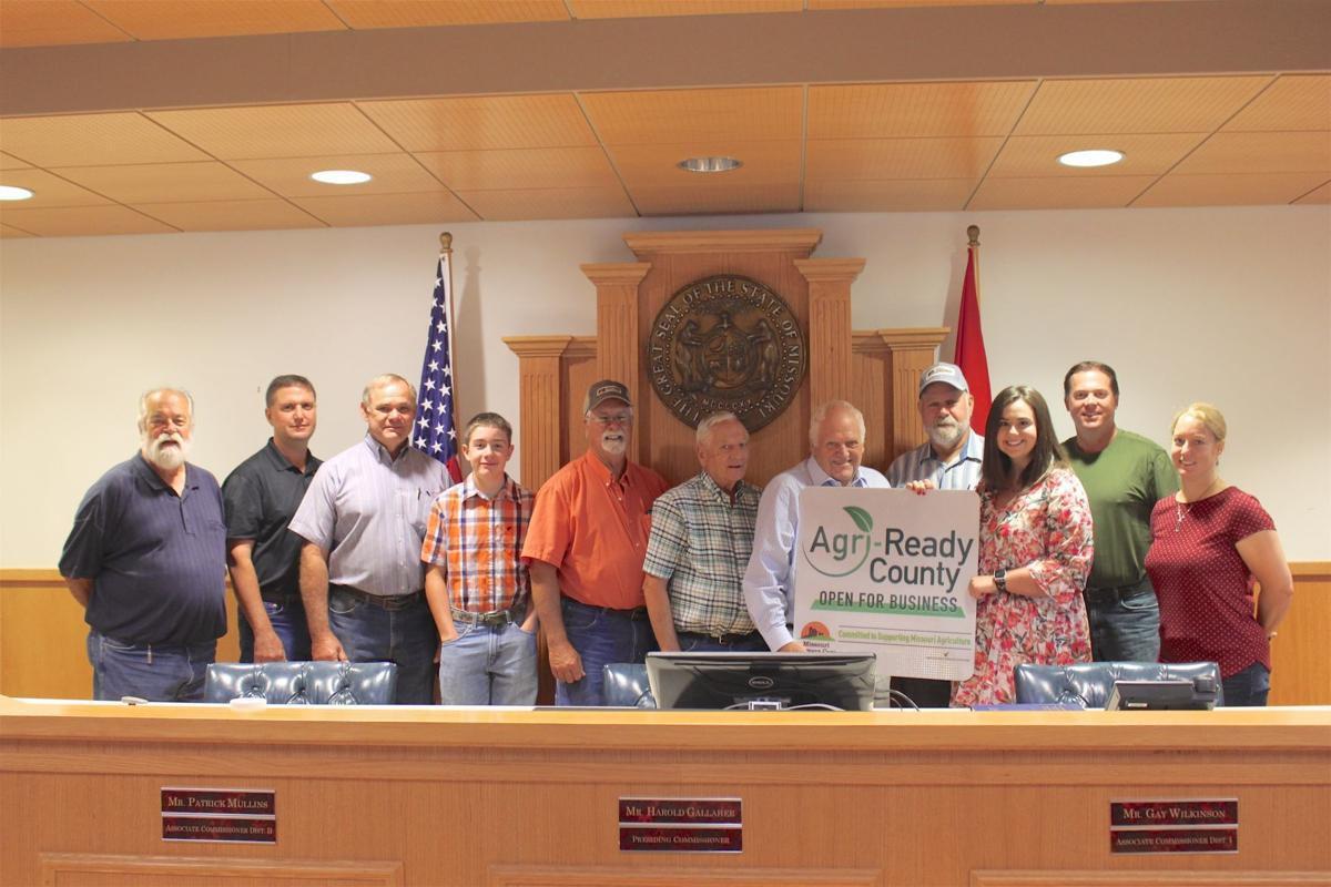 County recognizes agriculture