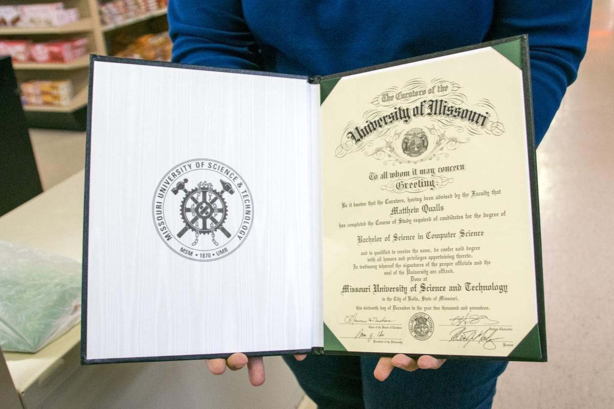 Qualls posthumous degree