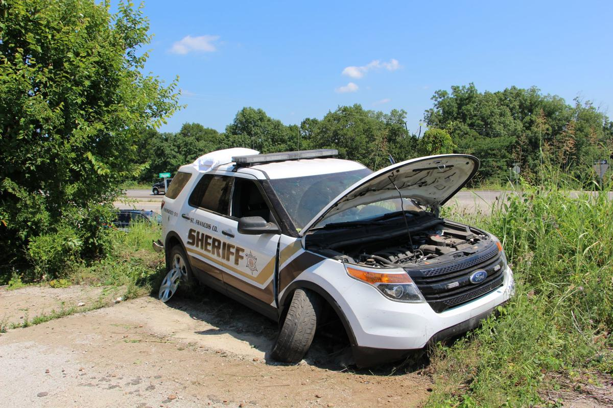 Officers injured in separate crashes after pursuit