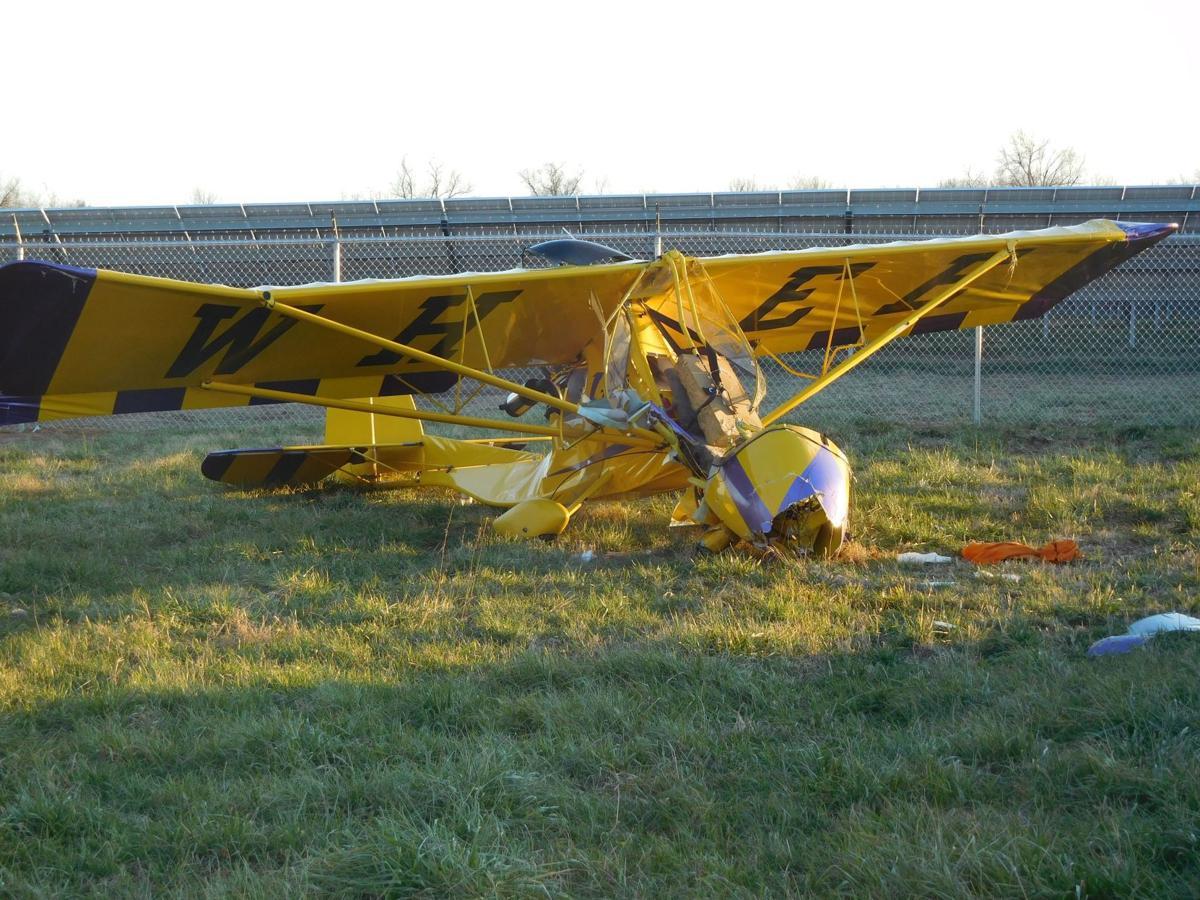 Crews Respond To Ultralight Plane Crash