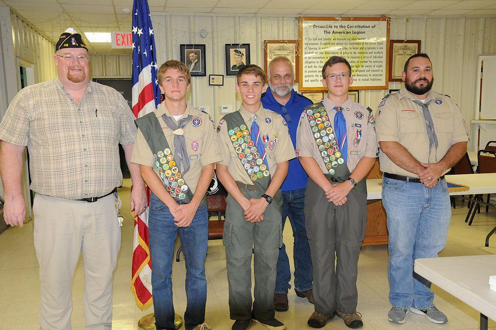 Scouts Earn 'Eagle' Rank