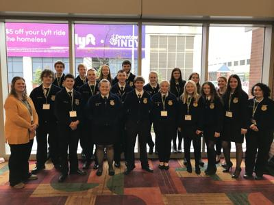 Local chapter attends National FFA Convention