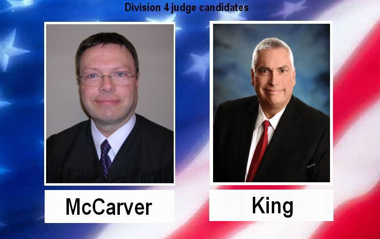 Incumbent, challenger file for Division 4 judge