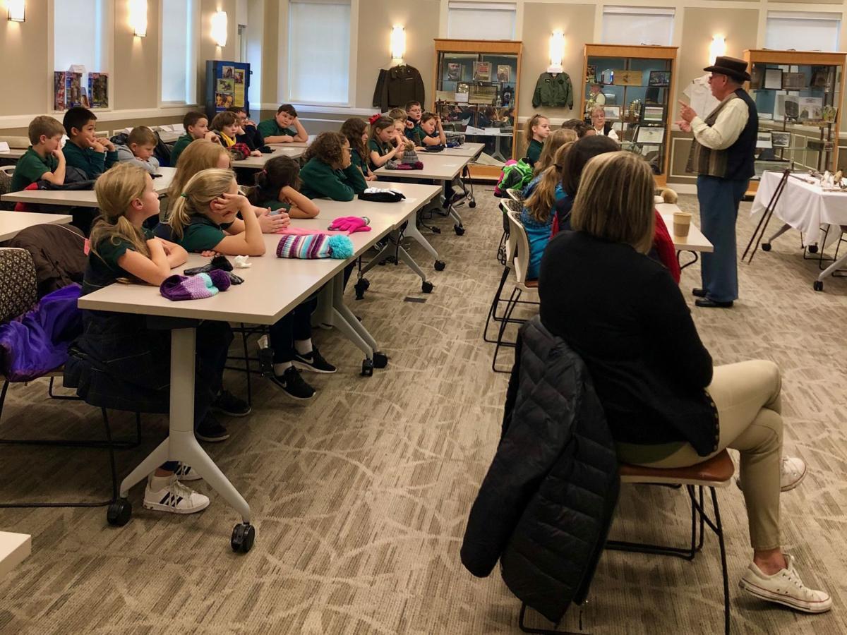 ST. JOSEPH STUDENTS ATTEND VETERANS PROGRAM