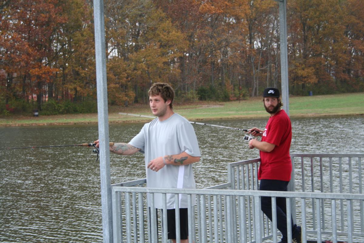 Catch and release season in full gear at Giessing Lake