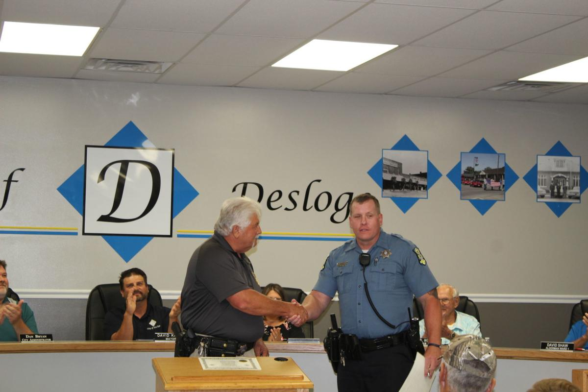 Desloge promotes 4 officers as a result of Prop P