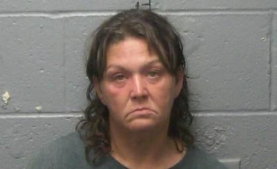 Woman arrested for burglary hours after being released from jail.