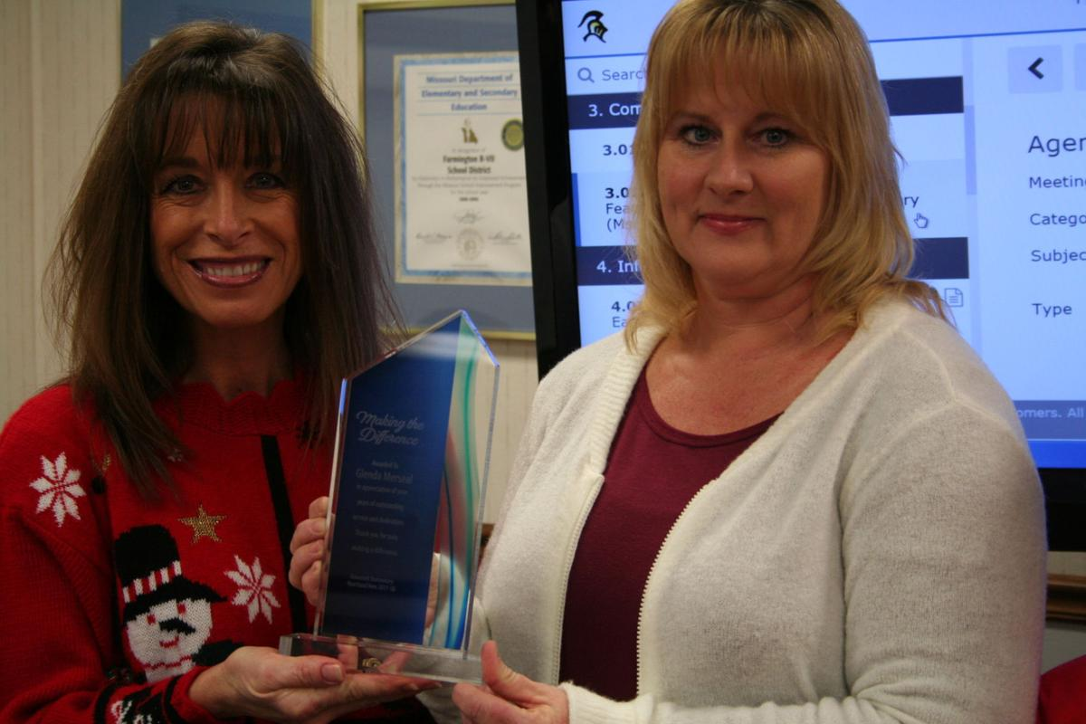 Boyd and Merseal honored at board meeting
