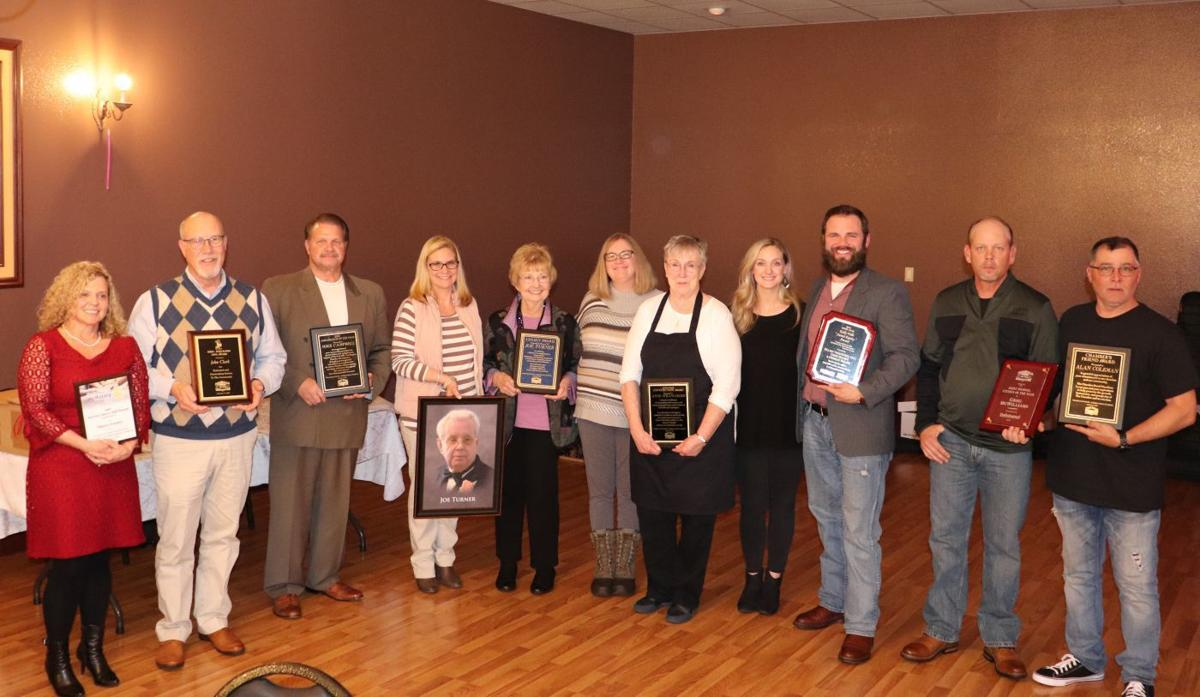 Several take home awards at chamber banquet