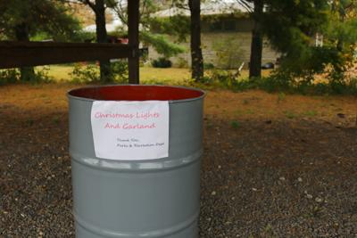 Donation barrel