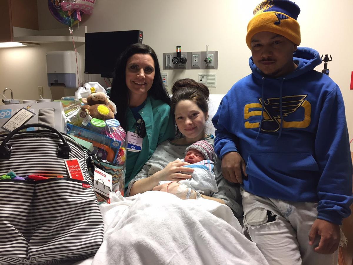 Parkland Health Center welcomes Baby Harmony