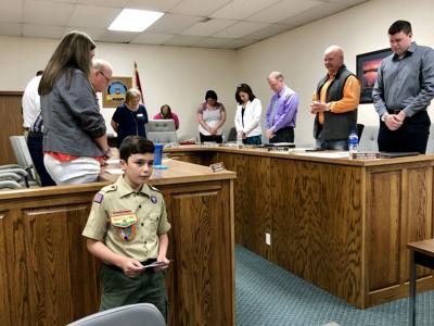 Schnable assists city council