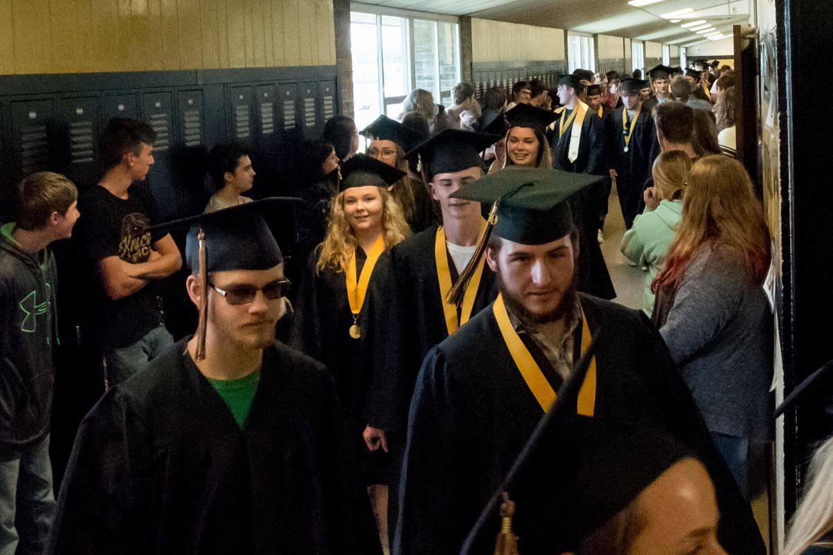 Fredericktown High School Senior walk-through