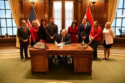 Governor signs FY20 budget bills, lauds General Assembly
