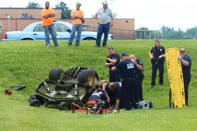 Man Injured In Riding Lawnmower Rollover