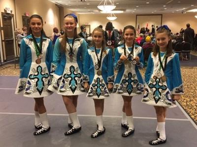 Irish dancers win at competition