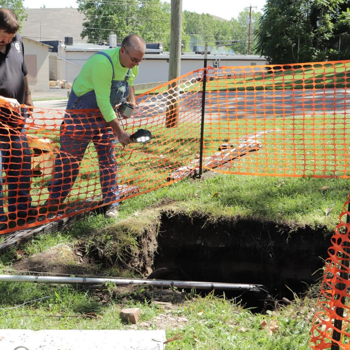 Bonne Terre sinkhole reaches mine | Daily Journal News
